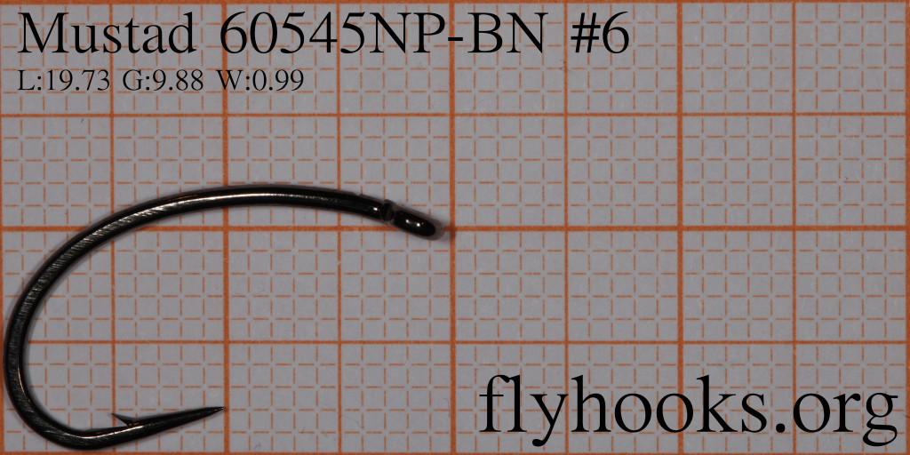flyhooks.mustad.60545np.bn.6-grid